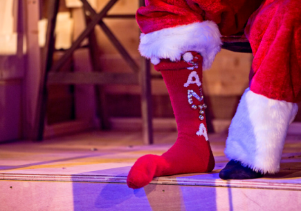 Simon's Magical Christmas Socks by Andrew McGregor - Photo by K Dundas